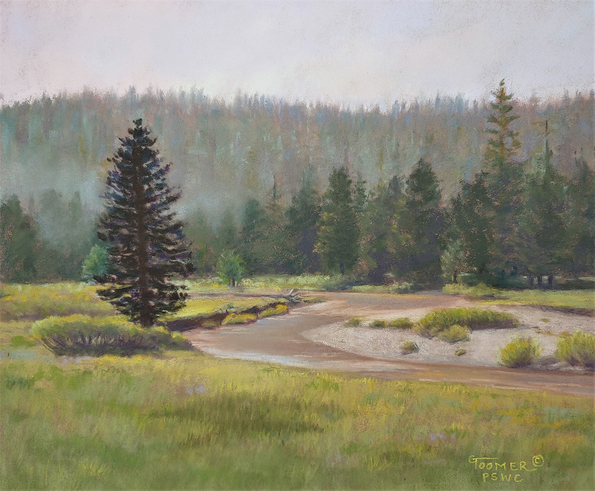 Ginger Toomer, Mist on the Meadow, 8x10, NFS